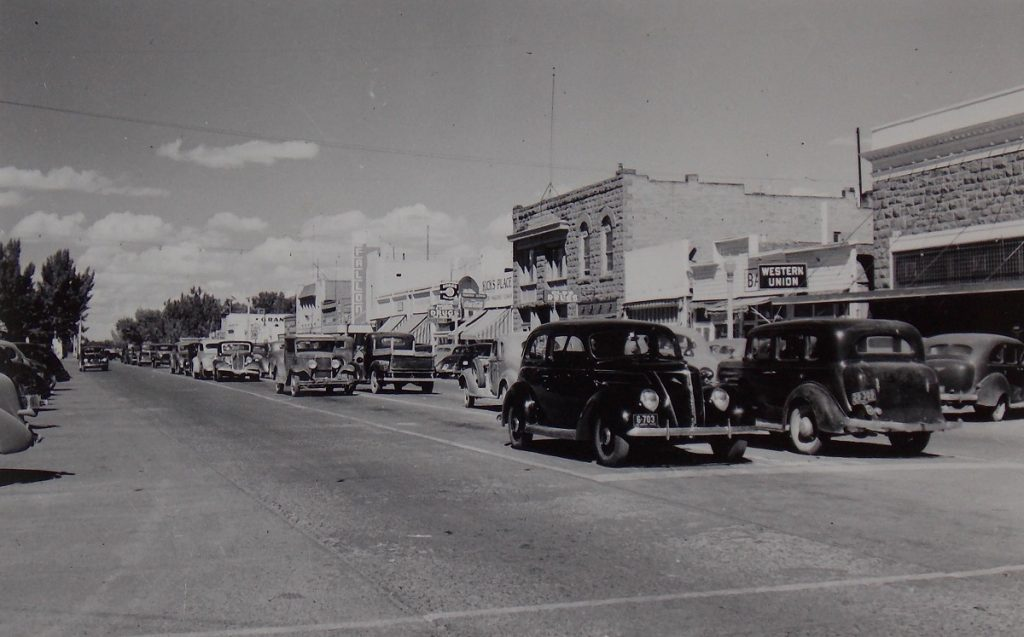 Fallon, NV. 1940s. Photo by Herb Ringer