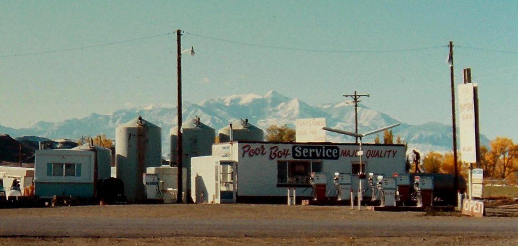 Hanksville 1975. Photo by Jim Stiles