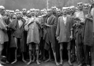 Auschwitz Jewish Concentration Camp. 1945