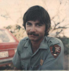"""Rookie Ranger Jim (""""Sonny Bono"""") Stiles."""