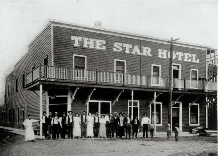 Elko, Nevada's Star Hotel, circa 1910. Northeastern Nevada Historical Society and Museum