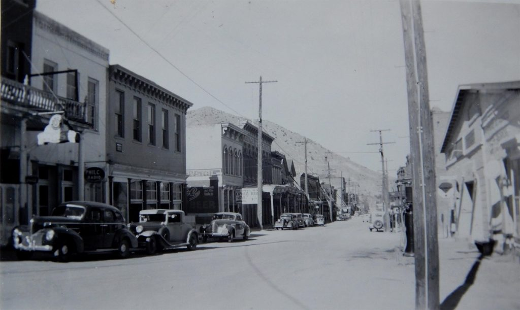 C Street in Virginia City. Photo by Herb RInger.