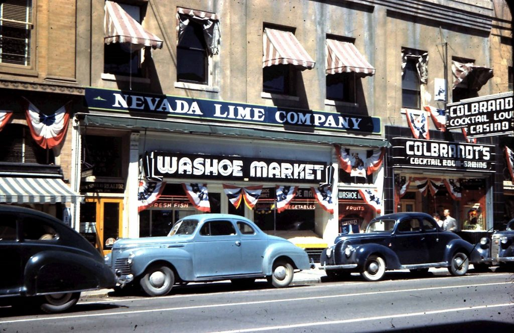 Washoe Market. 1946. Photo by Herb Ringer