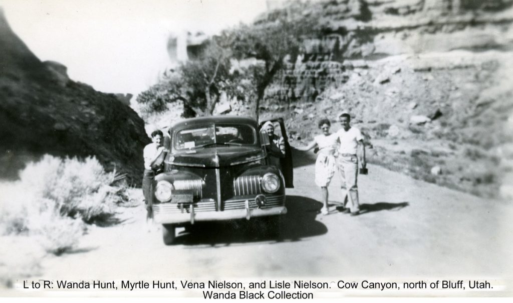 bluff cow canyon historic photo