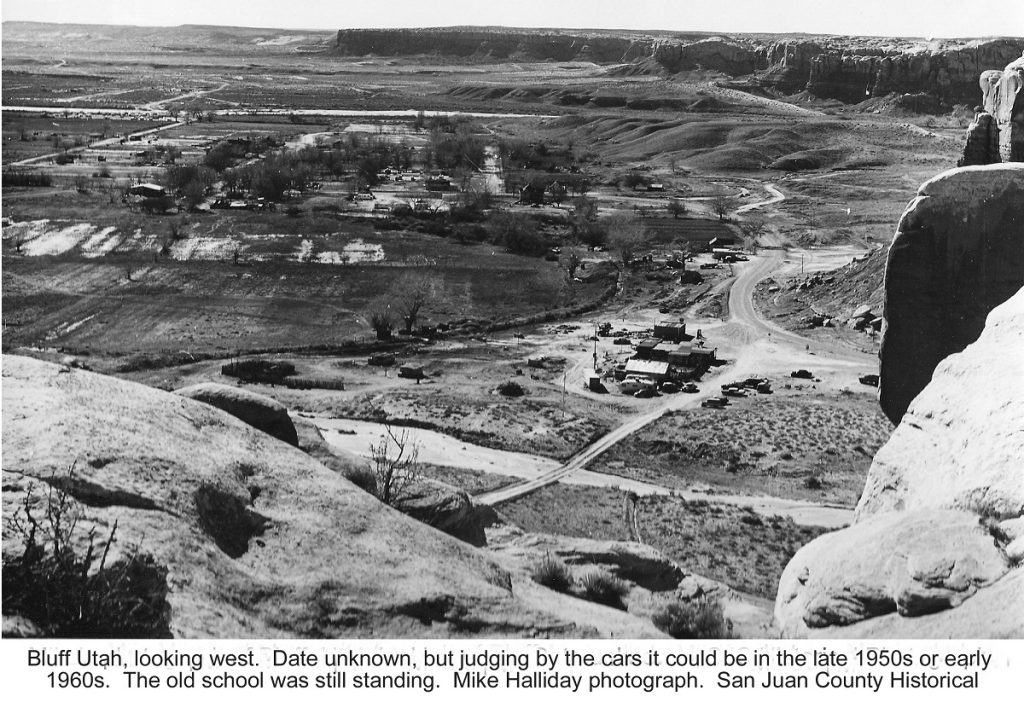 bluff utah overview 50s or 60s
