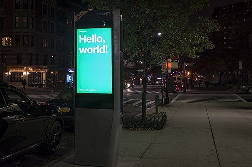Link NYC kiosk