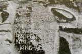 Closer View of King World Inscription