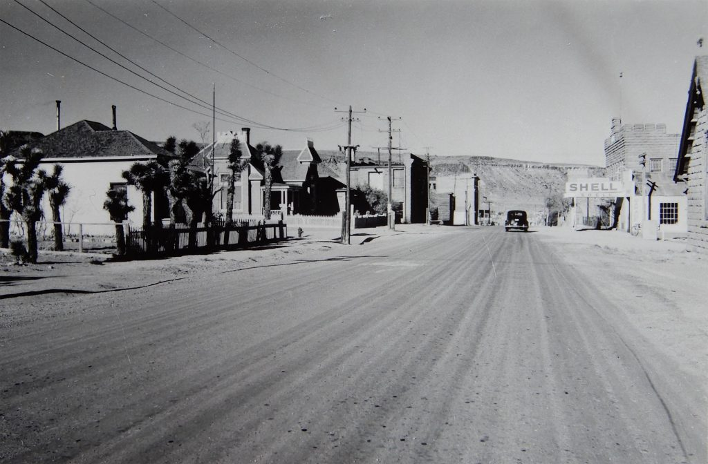 Herb Ringer Goldfield Nevada downtown 40s