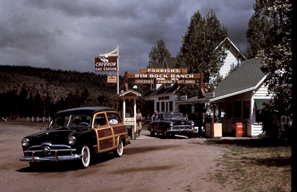 Rim Rock Ranch, 1940s. Photo by Herb Ringer