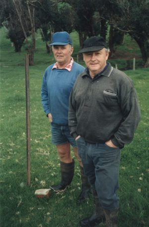 Michael and John Wringe. 1998. A quarter century later, their sons, Christopher and James keep Castledene going.