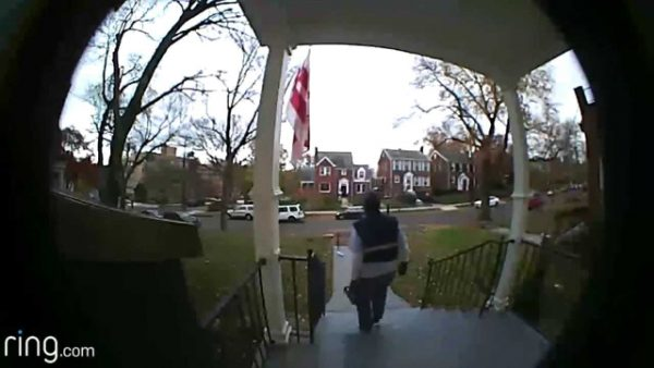 footage from a ring video doorbell