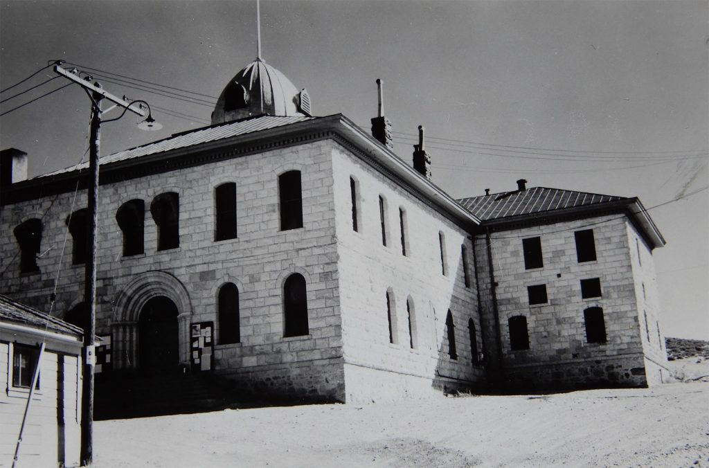 Tonopah Courthouse. Photo By Herb Ringer, 1940s