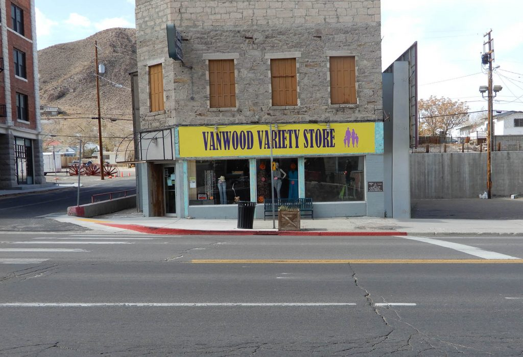 Tonopah street, 2019. Photo by Jim Stiles