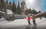 A California-based tourism publication promotes Park City ski tours of dilapidated silver mines that litter the slopes. (Orange Coast Magazine)
