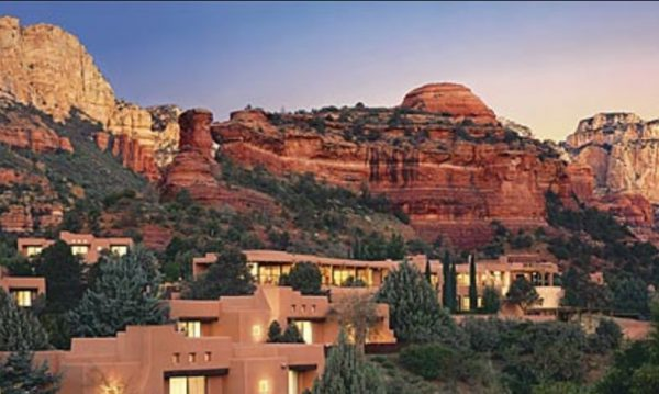 "It's not hard to imagine this as Bluff, Utah, in 10 or 20 years (Pueblo-ish cliffside abodes in Sedona, Arizona) because the process of homogenized suburbanization has already begun on the west edge of town. Here's the pitch: ""Elevated lot for best scenic views. Walk right up to the nearby ancient rock art panels and cliff dwellings from this lot. Breathtaking sunsets, glorious views in every direction."""
