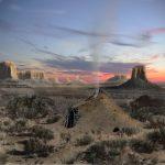Harvey Leake Monument Valley Navajo Hogan
