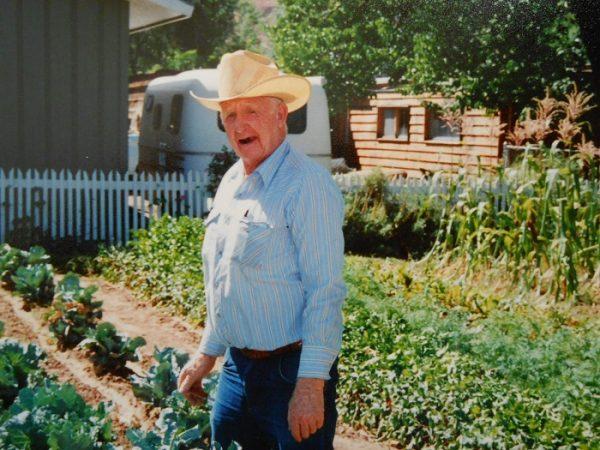 Dave Baker and his Garden