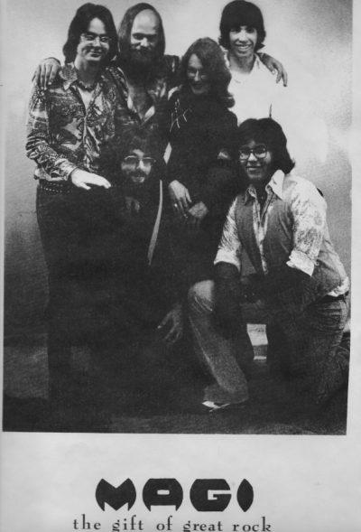 Magi Rock Band Poster