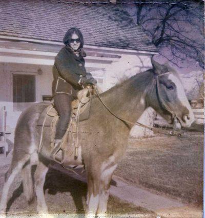 Author in Logan, Utah, 1967