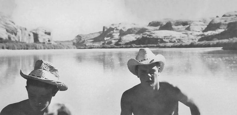 Bill & Jon Cataract Canyon 1949