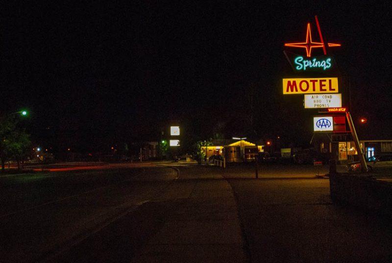 Springs Motel. Photo by Paul Vlachos