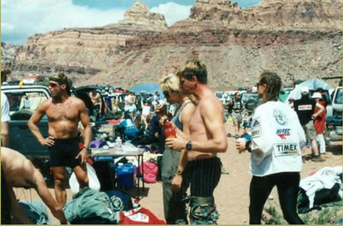 The Eco-Challenge Race in 1995. Photo by Jim Stiles