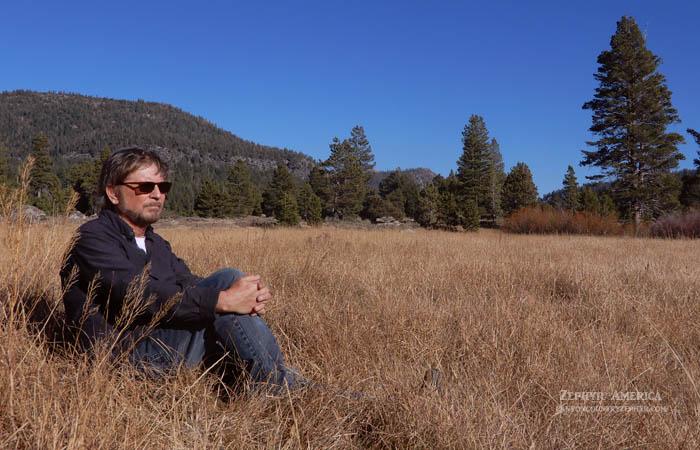 Jim Stiles at Hope Valley, Oct '19. Photo by Tonya Stiles