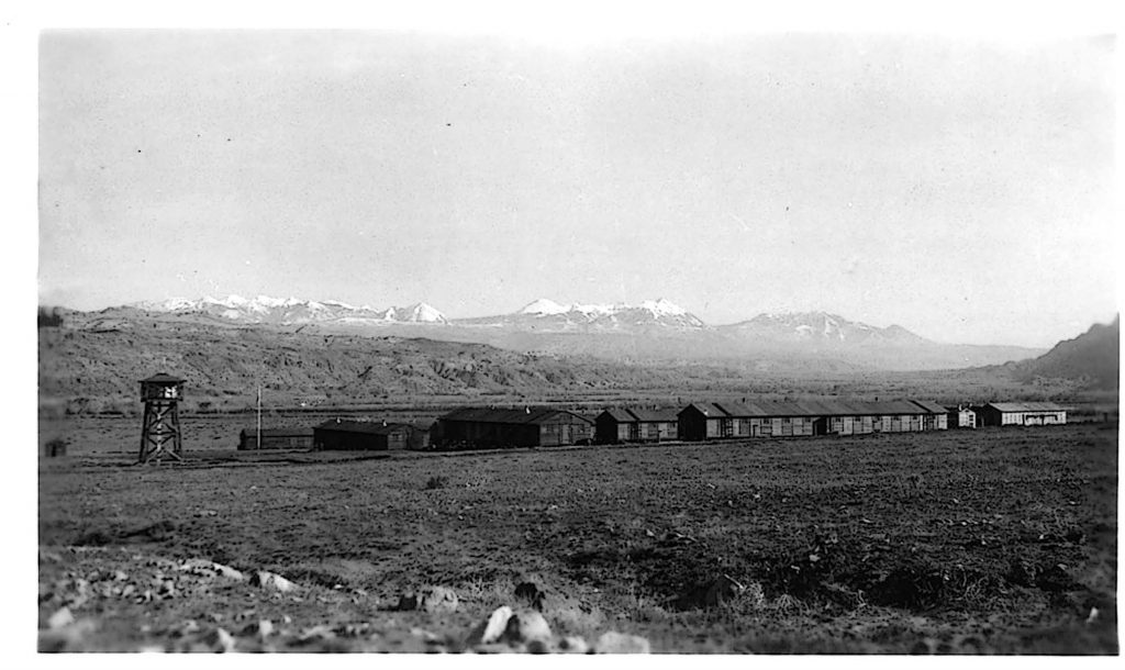 CCC Camp at Arches National Monument. c/o NPS