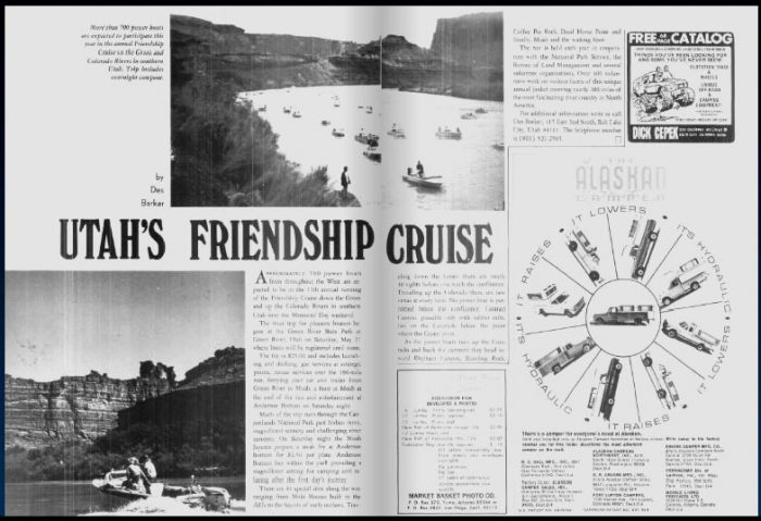 A 1972 Desert Magazine story on the Friendship Cruise