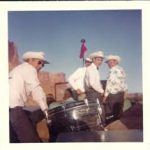 """The Canyonlanders"" on the Friendship Cruise, 1966. They were boated down the river by river runner Tex McClatchy."