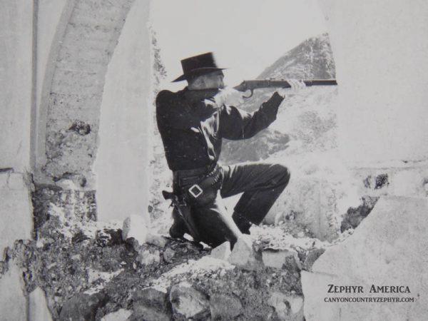 Herb Ringer at Rhyolite.