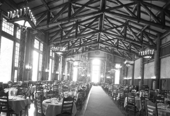The Ahwahnee Dining Room. c/o NPS