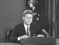 On October 22, 1962, Kennedy addressed the nation.