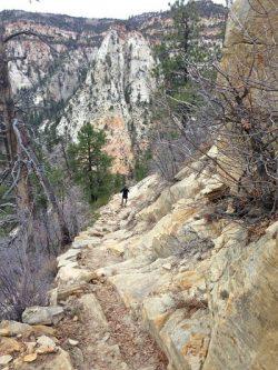 East Rim Trail, Zion National Park.