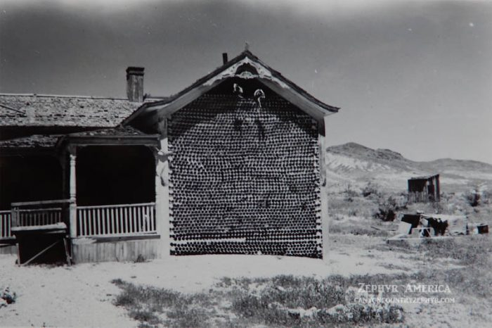 The Bottle House. Photo by Herb Ringer