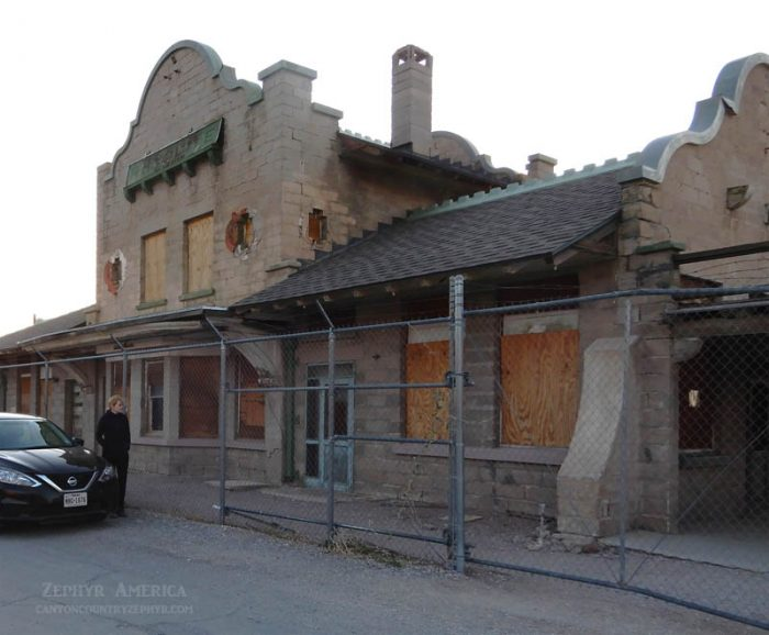Rhyolite Depot, 2019. Photo by Jim Stiles