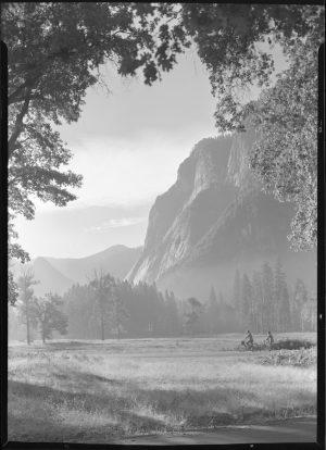 Two Sailors Bicycling Through Yosemite Valley. c/o NPS