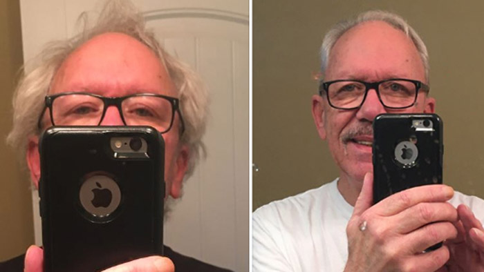 Our friend Dave Yarbrough recently made it to the Barber.