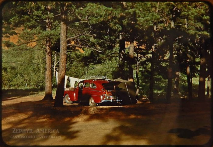 1946 Campsite. California. Photo by Herb Ringer
