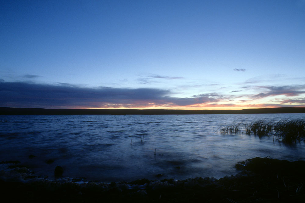 Sheldon National Wildlife Refuge at dawn – 1999. Photo by Paul Vlachos