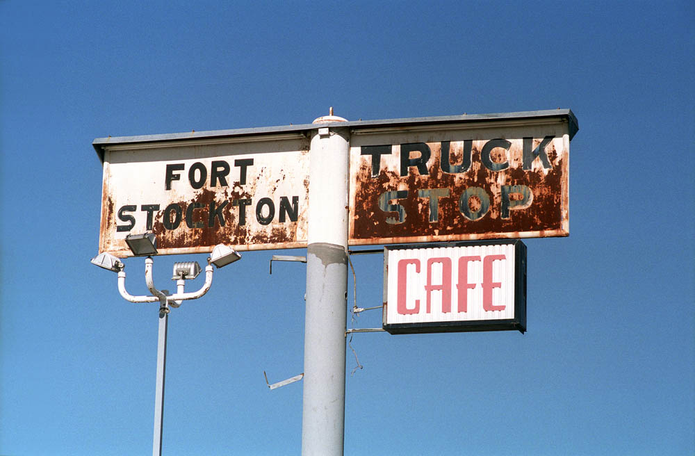 Fort Stockton, Texas – 1997. Photo by Paul Vlachos