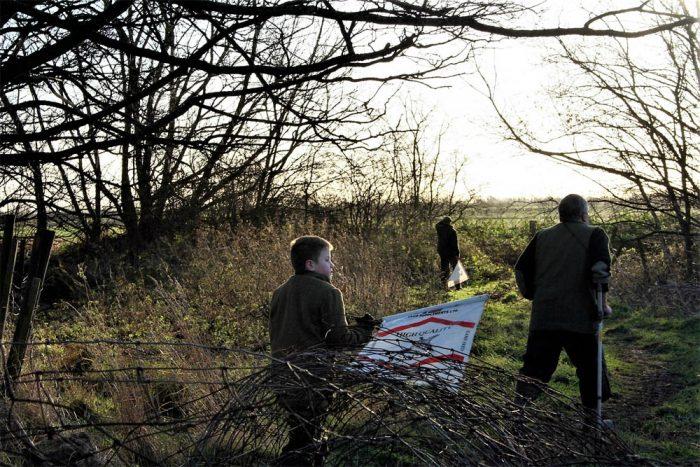 Beaters at Middleton Farm. Photo by Damon Falke
