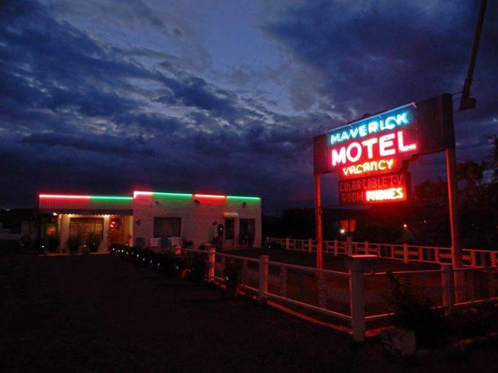 The Maverick Motel. Raton, New Mexico. Photo by Jim Stiles