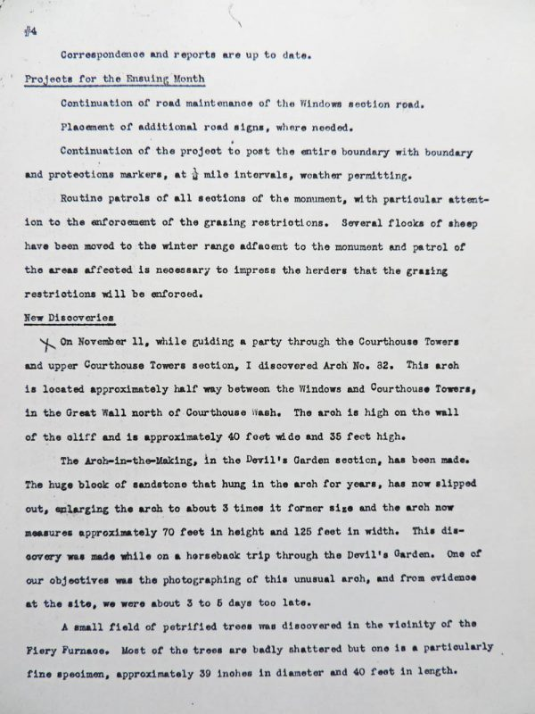 Hank Schmidt's Monthly Report, page 4