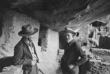 John Wetherill on the right with his successor at Navajo National Monument, Jim Brewer