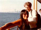 Janice and me on the Staten Island Ferry