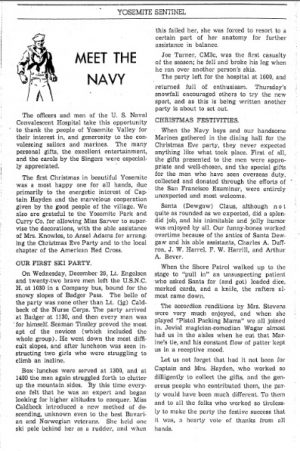 """Meet the Navy"" Yosemite Sentinel. Jan 8, 1944"