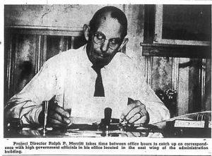 Ralph Merritt. Manzanar Free Press Sep 10, 1943