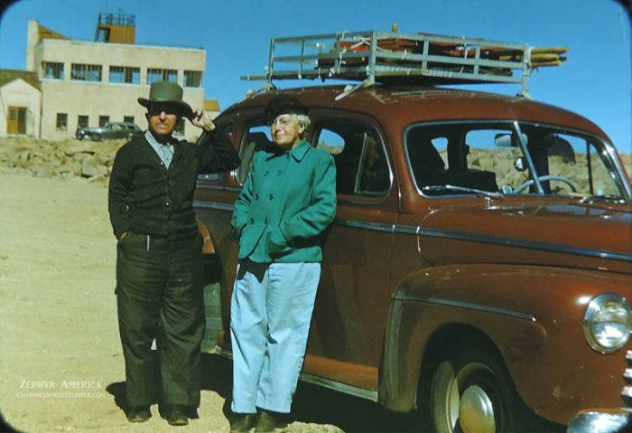 On top of Pikes Peak, Colorado. 1946. Photo by Herb Ringer