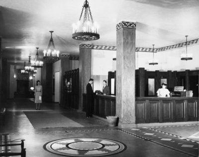 The Hotel Lobby. c/o NPS